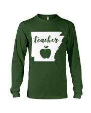 Arkansas Teacher - Map Long Sleeve Tee thumbnail