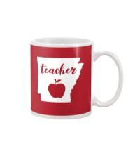Arkansas Teacher - Map Mug thumbnail