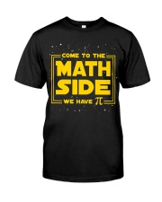 Teacher - Math Side Classic T-Shirt front