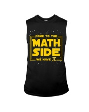 Teacher - Math Side Sleeveless Tee thumbnail