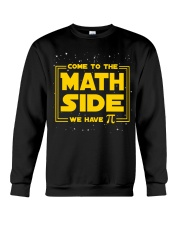 Teacher - Math Side Crewneck Sweatshirt thumbnail