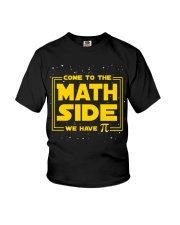 Teacher - Math Side Youth T-Shirt thumbnail