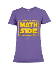 Teacher - Math Side Premium Fit Ladies Tee thumbnail