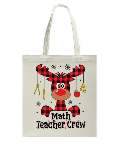 Math Teacher Crew - Reindeer