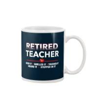 Retired Teacher Mug thumbnail