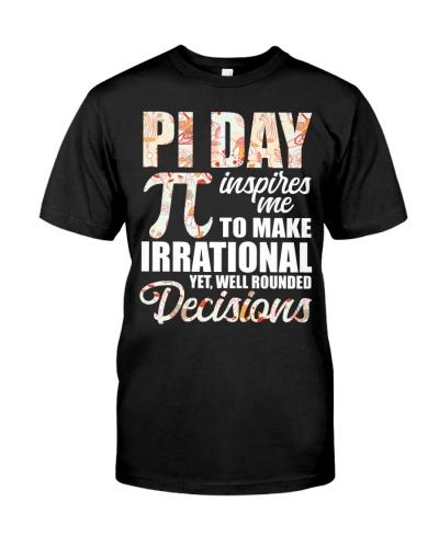 Math Teacher - Pi Day Inspires me