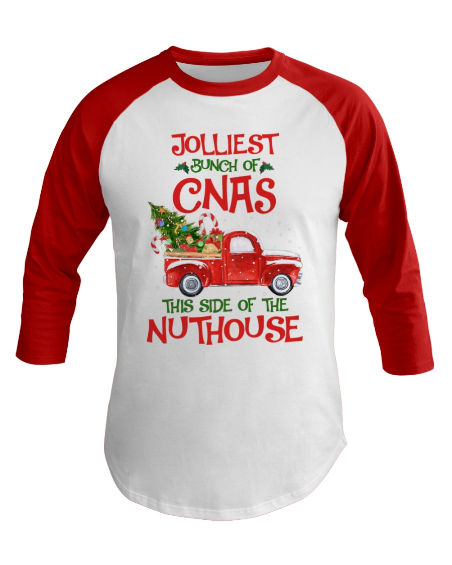CNA - This side of the nuthouse Baseball Tee