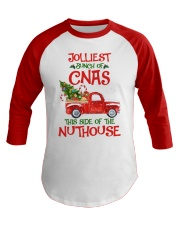 CNA - This side of the nuthouse Baseball Tee front