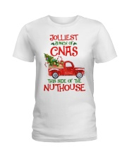 CNA - This side of the nuthouse Ladies T-Shirt thumbnail