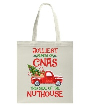 CNA - This side of the nuthouse Tote Bag thumbnail