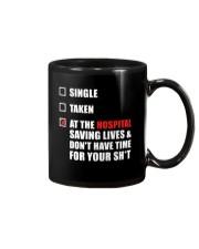 Nurse Status - Hospital Mug thumbnail
