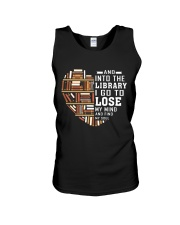 And into the Library I go to lose My Mind  Unisex Tank thumbnail
