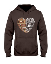 And into the Library I go to lose My Mind  Hooded Sweatshirt thumbnail