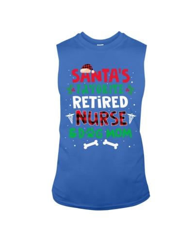 Retired Nurse - Santa's Favorite - Dog Mom
