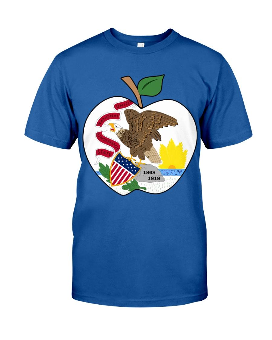 Illinois - National Teacher Day  Classic T-Shirt
