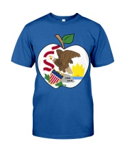 Illinois - National Teacher Day  Classic T-Shirt front