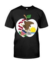 Illinois - National Teacher Day  Premium Fit Mens Tee thumbnail
