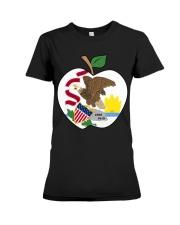 Illinois - National Teacher Day  Premium Fit Ladies Tee thumbnail