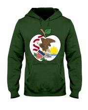 Illinois - National Teacher Day  Hooded Sweatshirt thumbnail