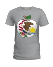 Illinois - National Teacher Day  Ladies T-Shirt thumbnail