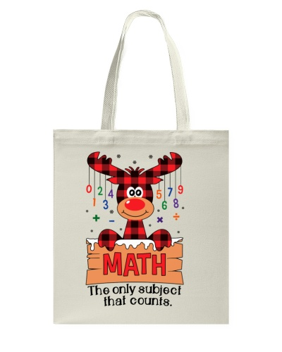 Math Teacher - The Only subject - Christmas gift