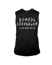 School Counselor - Be there for you Sleeveless Tee thumbnail