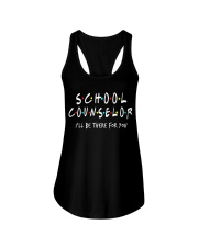 School Counselor - Be there for you Ladies Flowy Tank thumbnail