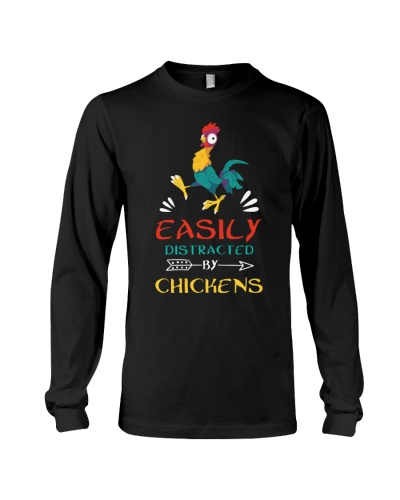 Farmer - Easily Distracted By Chickens
