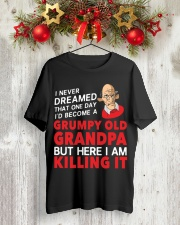 Grumpy Old Grandpa Classic T-Shirt lifestyle-holiday-crewneck-front-2