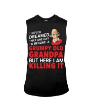 Grumpy Old Grandpa Sleeveless Tee thumbnail