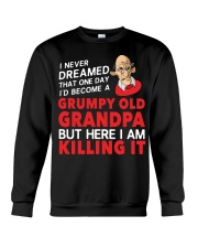 Grumpy Old Grandpa Crewneck Sweatshirt tile