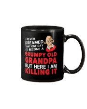 Grumpy Old Grandpa Mug tile