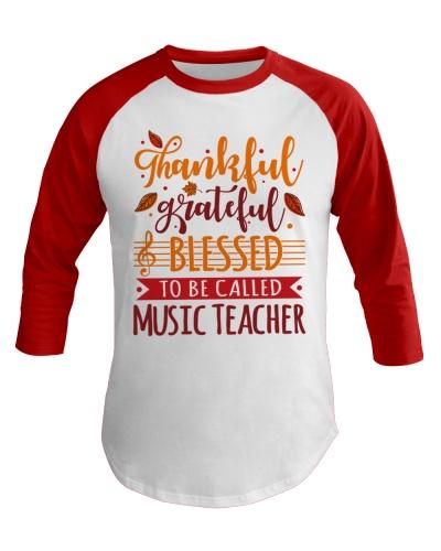 Music Teacher - Thankful Grateful Blessed