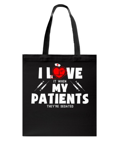 Nurse shirt - Love my patients - Christmas gift
