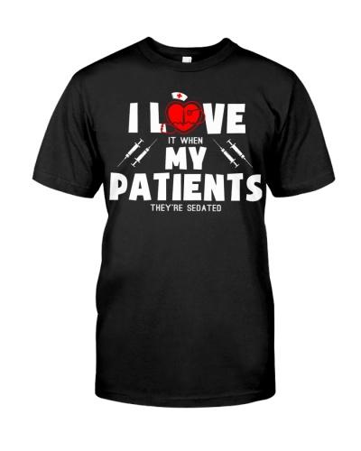 Nurse shirt - Love my patients - Christmas gift
