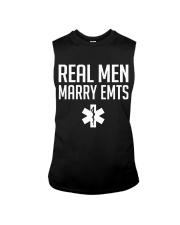 Real Men Marry EMTs Sleeveless Tee thumbnail
