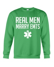 Real Men Marry EMTs Crewneck Sweatshirt thumbnail