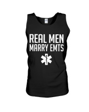 Real Men Marry EMTs Unisex Tank thumbnail