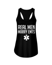 Real Men Marry EMTs Ladies Flowy Tank thumbnail