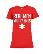 Real Men Marry EMTs Premium Fit Ladies Tee thumbnail