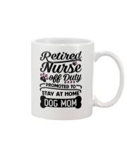 Retired Nurse - Stay at Home Dog Mom Mug thumbnail