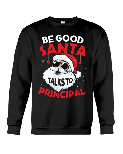 Principal - Santa talks to Principal