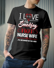Smoking Hot Nurse Wife Classic T-Shirt lifestyle-mens-crewneck-front-6