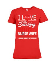 Smoking Hot Nurse Wife Premium Fit Ladies Tee thumbnail