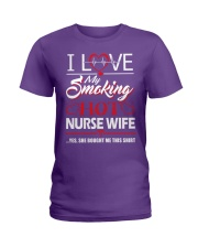 Smoking Hot Nurse Wife Ladies T-Shirt thumbnail
