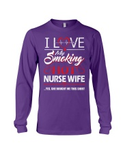 Smoking Hot Nurse Wife Long Sleeve Tee thumbnail