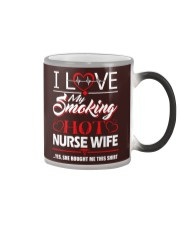 Smoking Hot Nurse Wife Color Changing Mug thumbnail