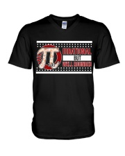 Pi Day - Irrational but Well rounded V-Neck T-Shirt thumbnail