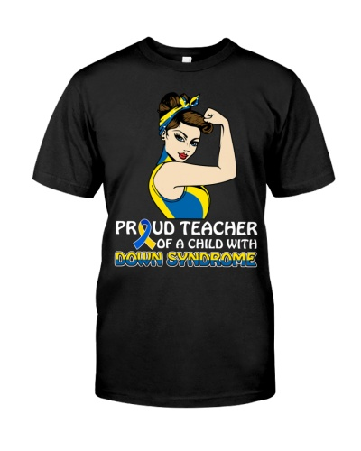 Down Syndrome Awareness - Proud Teacher