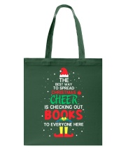 Librarian - The best way to spread Christmas Cheer Tote Bag thumbnail